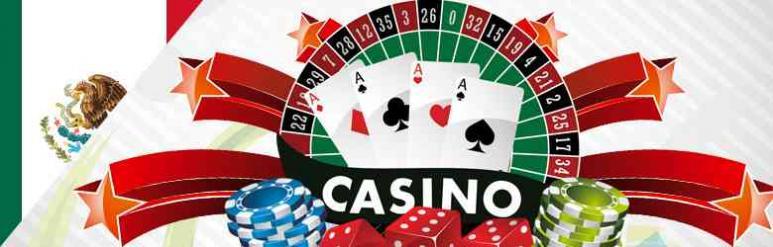 bandera de México, juegos casino