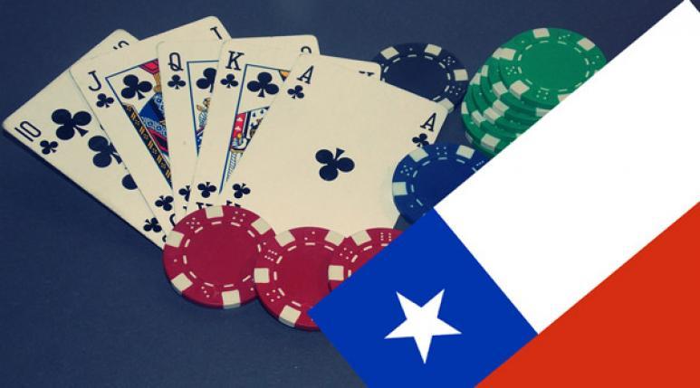 Bandera Chile, poker